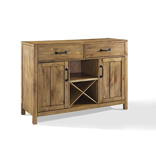 Crosley Furniture Roots Buffet Dining Room Storage - Natural (Buffets Dining For Room)