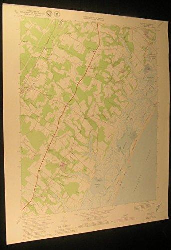 bloxom-virginia-nasa-flight-center-1980-vintage-usgs-original-topo-chart-map