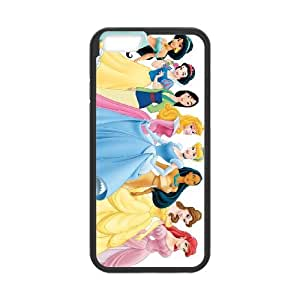 disney princess 2 iPhone 6 Plus 5.5 Inch Cell Phone Case Black PSOC6002625736399