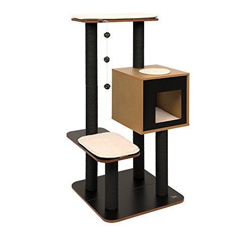 Vesper Cat Furniture Black V High Base Animals Pet