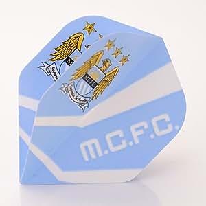 3 x MANCHESTER CITY FOOTBALL CLUB PLUMES (1 Jeu)