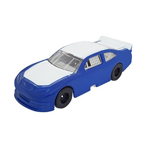 1/64 Scale Nascar Style Race Car - Blue & White - Promotional Product - Your Logo Imprinted (Case Pack of (Custom Diecast Race Cars)
