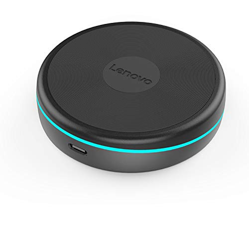 Qi Wireless Charger, Lenovo Fast Wireless Charging Pad W03, Rotatable Design With USB-C Cable for iphone X 8 Plus Samsung Galaxy S8 / S7 / S6 Plus Edge LG and More Devices (Without USB Wall Charger)