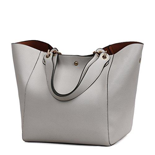 per Multifunzionale Tracolla a a Borse Portatile Grigio Zonlin Donne Womens Borsa Handbag Tracolla le SwF1vzYq