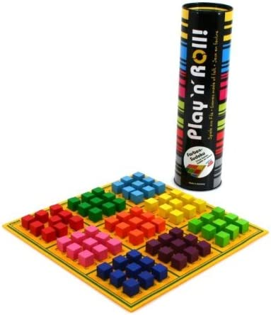 weiblespiele 06239 Colores Sudoku Play n Roll Fieltro con Juego Piedras de Madera: Amazon.es: Juguetes y juegos