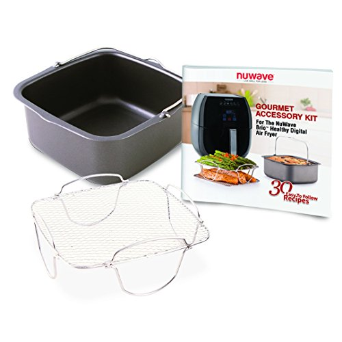 Large Product Image of Nuwave Brio Healthy Digital Air Fryer and Brio Air Fryer Accessory Pack