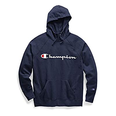 Champion Women's Plus-Size Powerblend Graphic Hoodie at Women's Clothing store