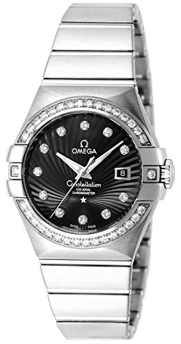Omega Wristwatch Constellation 123.55.31.20.51.001 Co-axial Automatic Winding Diamond K18wg Innocence