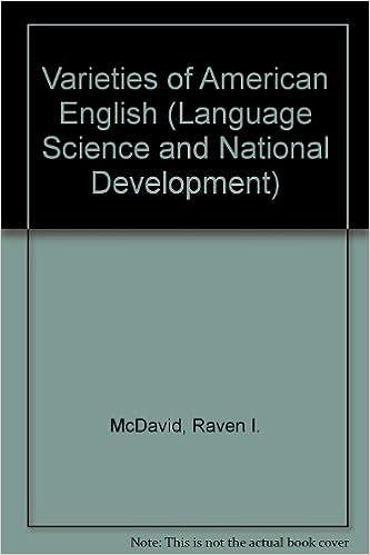 varieties of american english essays