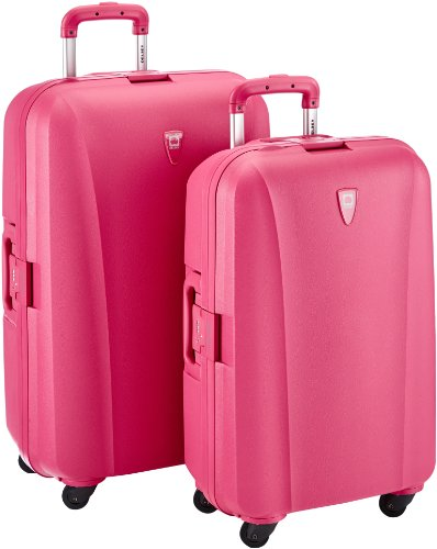 Delsey Suitcase, 32 cm, 124 L, Pink: Amazon.co.uk: Luggage
