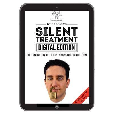 Silent Treatment (Digital Edition) by Jon Allen - Trick by Murphy's Magic