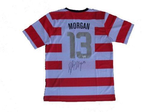 Alex Morgan Signed USA Olympic Jersey JSA