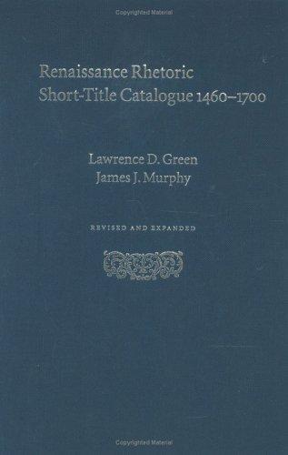 Renaissance Rhetoric Short-Title Catalogue 1460–1700