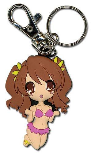 (Great Eastern Entertainment Haruhi Suzimaya Miruku SD PVC Keychain)