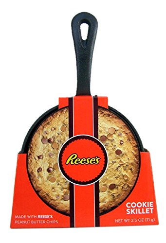 Reese's Cookie Cast Iron Skillet with Cookie Baking Mix, 5 Inch (Kit Cookie Baking)