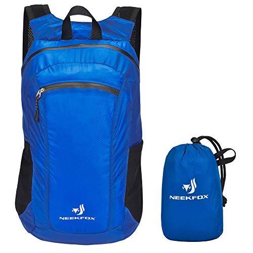 NEEKFOX Lightweight Packable Backpack Small Hik...