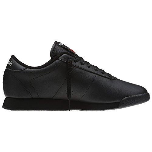 Reebok Damen Princess Lauflernschuhe Sneakers, Schwarz (Nero), 40 EU