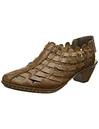 Rieker 46778 - 22 Noce (Brown) Womens Shoes