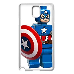 Captain America Samsung Galaxy Note3 Phone Case Black white Gift Holiday Gifts Souvenir Halloween Gift Christmas Gifts TIGER156453