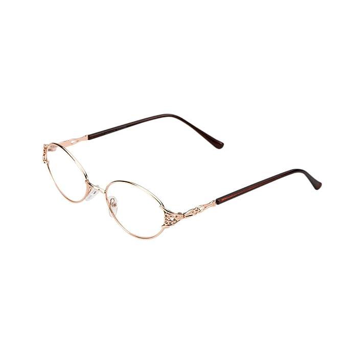 Deylaying Moda Donne Cornice metallica Vintage Occhiali da lettura Gradazione +1.00 +1.50 +2.00 +2.50 +3.00 +3.50 +4.00 uFn9QJjgD