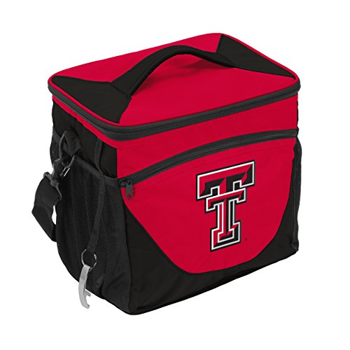 NCAA Texas Tech Red Raiders 24-Can Cooler with Bottle Opener and Front Dry Storage Pocket ()