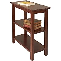 Manchester Wood Chairside Bookshelf - Chestnut