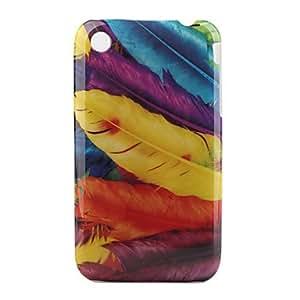 comprar Colorida Carcasa de Diseño de Plumas para el iPhone 3G - 3GS (Colores Múltiples)