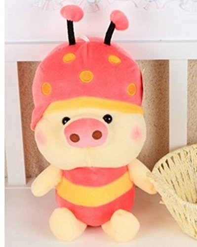 (Pig Pig Cute Plush Toy Doll Bee Lovers Valentine Gift Doll Plush Pig (60cm, pine))