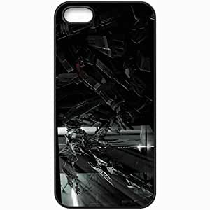 Personalized iPhone 5 5S Cell phone Case/Cover Skin Armored Core Black