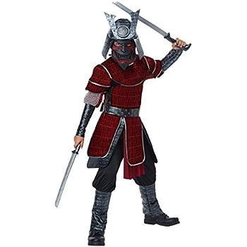 Amazon.com: Disfraz de Samurai Armor japonés, diseño basado ...