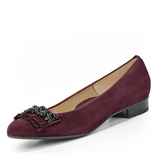 for cheap cheap online ara Women's Bari Closed Toe Ballet Flats Rot (Brunello 11) exclusive cheap price cheap outlet locations j6Lj9i9