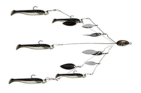 703c938e06 Amazon.com   Fishing Vault Fully Rigged 5 Arms 8 Bladed Alabama ...