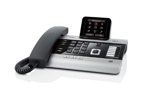 Gigaset DX800A schnurgebundenes Hybrid Telefon mit Anrufbeantworter und integrierter Dect Basisstation, analog, ISDN, VoIP (ALL-IP)