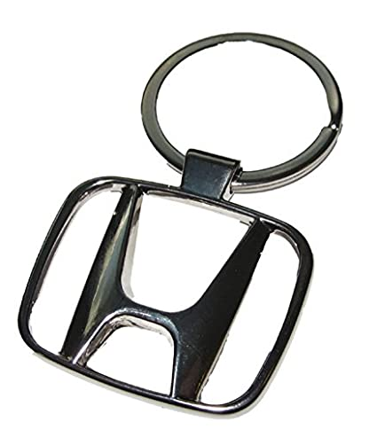 Speedgear Honda Chrome Metal Logo Keychain