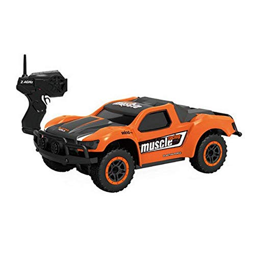 Ceepko RC Cars for Kids, 1:43 Mini Short-Course Truck Remote Control Car Extra Long Play Time, Off-Road High-Speed Remote-Control Racing Toys