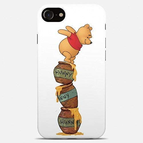 Inspired by Winnie the pooh phone case Winnie the pooh iPhone case 7 plus X XR XS Max 8 6 6s 5 5s se Winnie Samsung galaxy case s9 s9 Plus note 8 s8 s7 edge s6 s5 note 9 gift art cover сartoon hunny