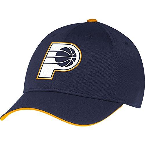 Adidas Men's Indiana Pacers Flip Visor Structured Flex Navy Hat