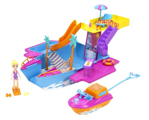 Polly Pocket Island - Polly Pocket Tropical Party Yacht