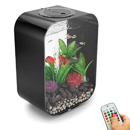 biOrb Life 15 Aquarium with MCR - 4 Gallon, Black