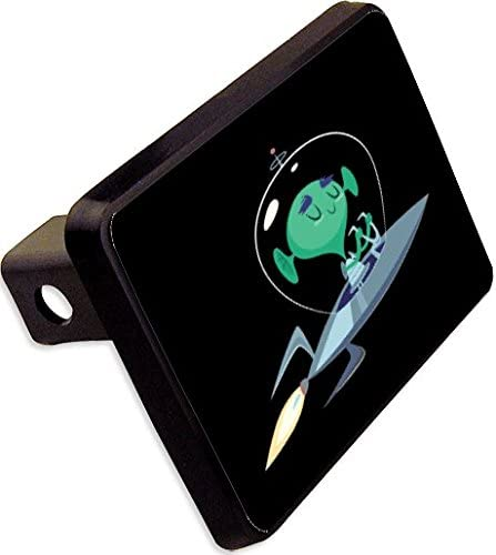 Alien Trailer Hitch Cover Plug Funny Novelty