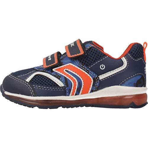 Zapatos B Bebés navy C0820 A Pasos Todo De Para Primeros orange Azul Boy Geox wdzPAqxIw