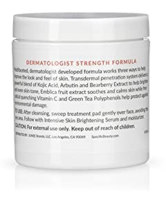 Specific Beauty – Advanced Dark Spot Correcting Pads – Resurfacing Antioxidant Brightening Treatment Infused with Botanical Extracts – 90 Day Supply/90 Pad Count