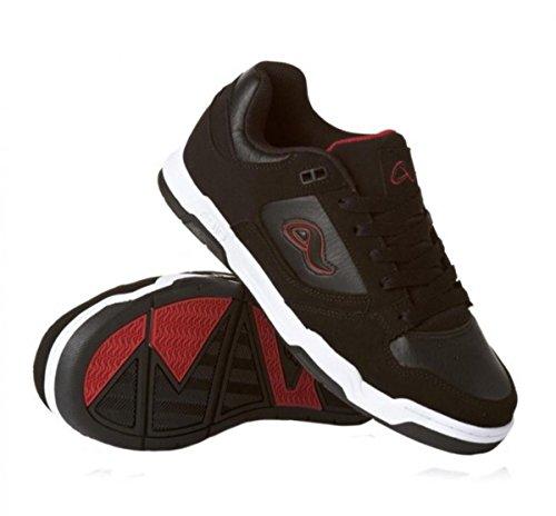 Adio Skateboard Shoes Duke Black NB /Red sneakers Shoes