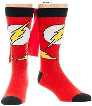 DC Comics Flash Mens/' Crew Socks in Gift Tin