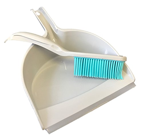 Pet Hair Remover Dustpan And Rubber Hand Brush Ideal For