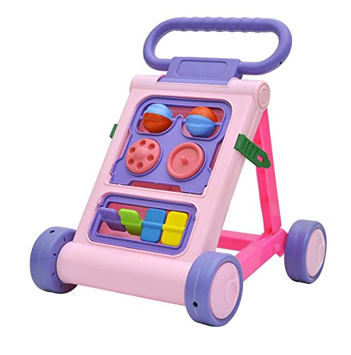 Generic Stepupp Baby Activity Walker, (Pink Purple, 040)