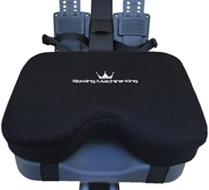Rowing Machine Seat Pad for Concept2 Model D E – Plus Other Rower Models WaterRower, NordicTrack, Etc. Seat Cushion Relieves Sore Butt Pain. Memory Foam Material no gel Good for Sculling Boats