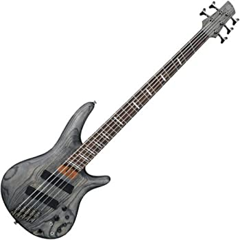 Ibanez SRFF805 Multi Scaling 5-String Electric Bass Guitar Satin Black