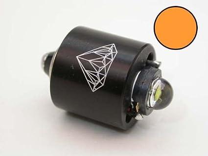 Amazon.com: Diamond 3 W ámbar foco de Linterna LED para ...