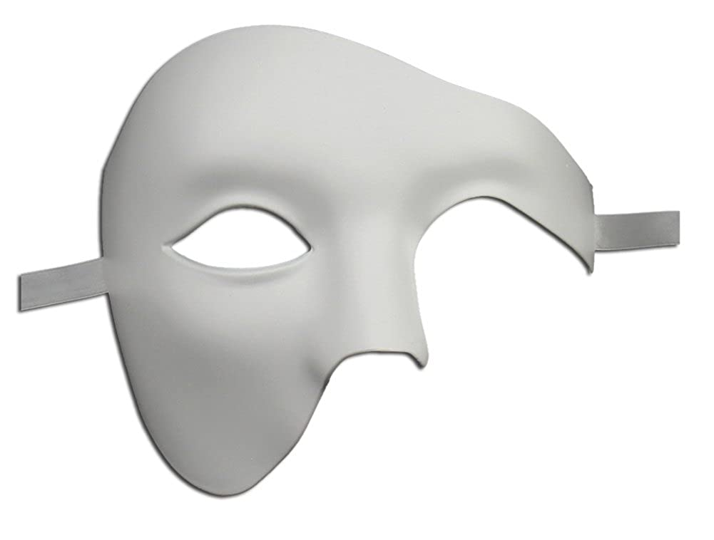 Men's Phantom of The Opera Masquerade Mask Vintage Design